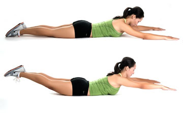 Back Exercises to help relieve back pain non surgically ...